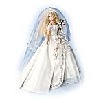Porcelain Bride Doll: Silver Prelude