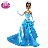 Disney Princess Tiana In Blue Ballgown Fashion Doll