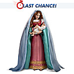 The Madonna And Child Porcelain Fashion Doll