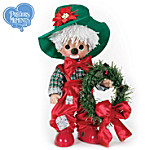 Precious Moments Decorative Christmas Vinyl Doll: Ho Ho Ho-Bo