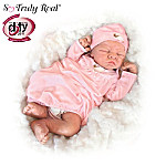 Little Lamb: 19 Baby Girl Doll Of So Truly Real
