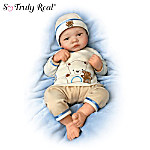 Bearly Asleep: 19-Inch Lifelike Baby Boy Doll