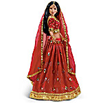 The Sparkling Radiance Hindu Bride Doll