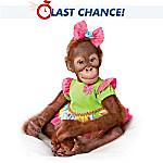Simon Laurens Mollie the Orangutan Toddler Doll