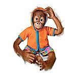Jollie Child Orangutan Doll