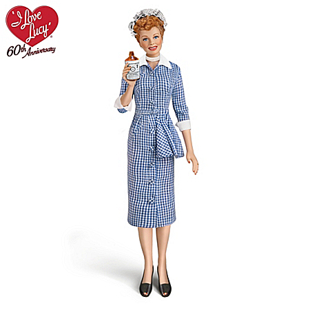 The Talking I LOVE LUCY Vitameatavegamin Fashion Doll