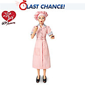 I LOVE LUCY Job Switching Fashion Doll