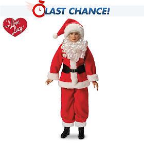 I LOVE LUCY Holiday Fashion Portrait Doll
