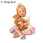 So Truly Real Lifelike Baby Doll With A Recordable Bear: Beary Sweet Messages