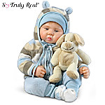 So Truly Real Luca Baby Boy Doll With RealTouch Vinyl