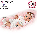 So Truly Real Olivias Gentle Touch Lifelike Baby Girl Doll By Linda Murray