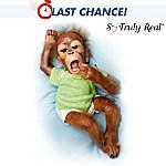 Baby Orangutan Doll: Baby Zula