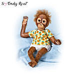 Baby Juma Realistic Orangutan Baby Doll