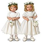 Dolls: Royal Flower Girls Child Doll Set