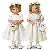 Royal Flower Girls Child Doll Set