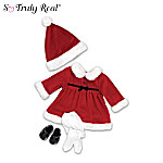 Baby Doll Santa Outfit Accessories: Santa's Little Helper