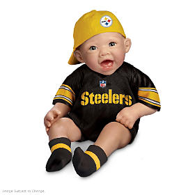 The Steelers Commemorative Baby Doll