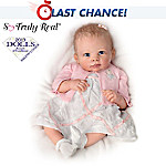 Lifelike Baby Girl Doll: A Moment In My Arms, Forever In My Heart