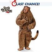 The Cowardly Lion Portrait Doll