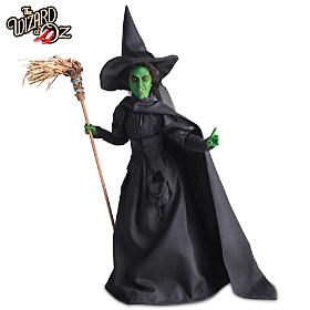 Wicked Witch Of The West Portrait Doll