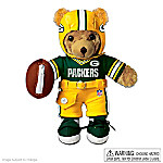 Collectible Teddy Bears The Green Bay Packers Coaching Teddy Bear: Educational Huggable Plush Toy For Age 3 And Up