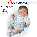 Lifelike Interactive Baby Boy Doll: Ethans Sweet Touch