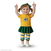 Packer Girls Have More Fun! Child Doll