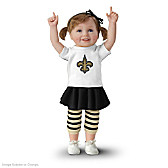 Saints Girls Have More Fun! Child Doll