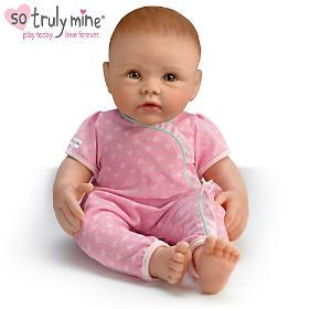 So Truly Mine Baby Doll: Red Hair, Hazel Eyes