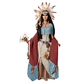 Mystic Spirits Of The Medicine Woman Portrait Doll