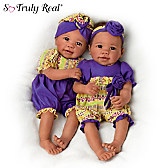 Asha And Amara Baby Doll Set