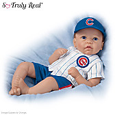 Kyle, The Littlest Cubs Fan Baby Doll