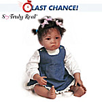 Waltraud Hanl Jasmines At Age 1-1/2 So Truly Real Lifelike Baby Doll