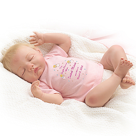 Baby Mine Personalized Lifelike Baby Doll