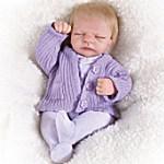 Tiny Miracles Emma Miniature Lifelike Baby Girl Doll - So Truly Real