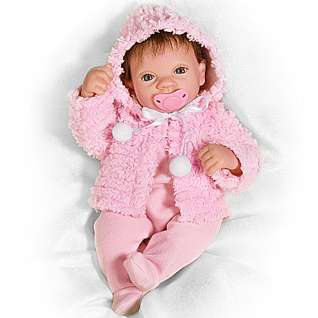 Tiny Miracles Martha Viola Baby Doll: So Truly Real