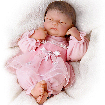 So Truly Real Ashlyn Baby Doll From Tiny Miracles