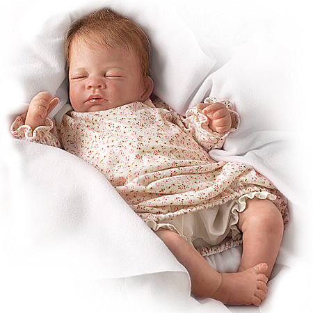 Hush, Little Baby Collectible Lifelike Baby Girl Doll: So Truly Real