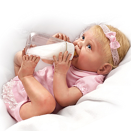 Tippy Toes Collectible Lifelike Baby Girl Doll: So Truly Real
