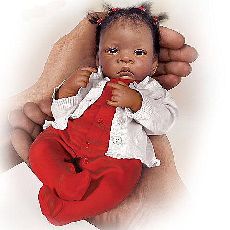 Tiny Miracles Jasmine African American Baby Girl Doll: So Truly Real
