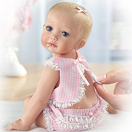 Tiny Miracles Hailey Needs A Hug Realistic Baby Doll: So Truly Real