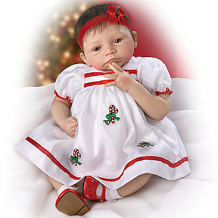 Life Like Baby Dolls Noelle's First Christmas Lifelike Collectible Baby Girl Doll: So Truly Real