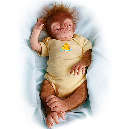 Little Jala Baby Orangutan Doll: So Truly Real