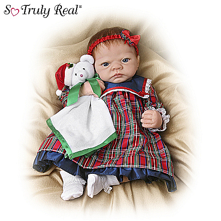Life-Size Merry Christmas, Emily: Realistic Emily Christmas Doll - So Truly Real