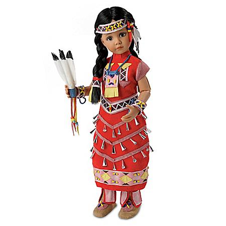Dianna Effner Jingle Joy Dancer Native American Style Child Doll