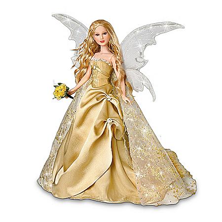 16-Inch Vinyl Bride Doll: Innocence