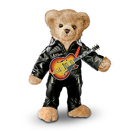 Collectible Teddy Bears The '68 Comeback Special Elvis Presley Teddy Bear