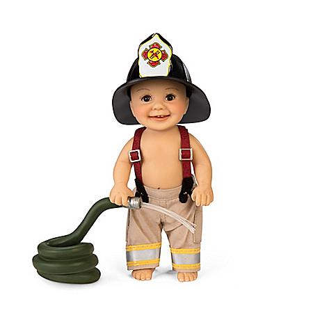 Fire Hydrant Fun Baby Doll
