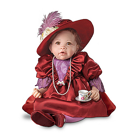Sophia: 20-Inch Collectible Victorian Baby Girl Doll