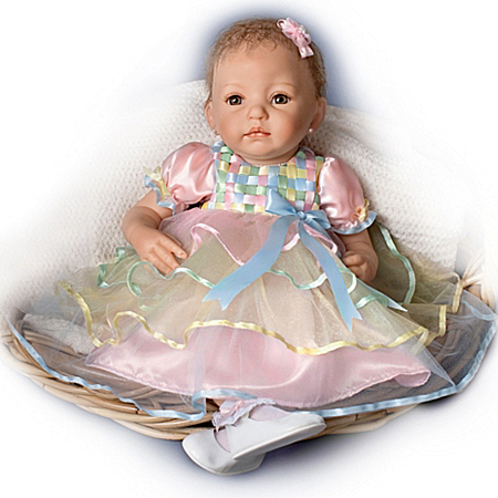 Adorable Baby Ella: 19-Inch Lifelike Baby Girl Doll